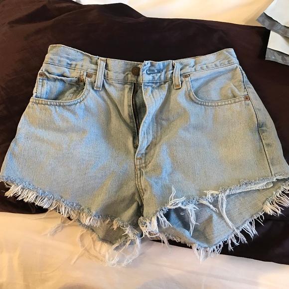 145ae413 Levi's Shorts | Urban Renewal Recycled Levi Cutoffs | Poshmark
